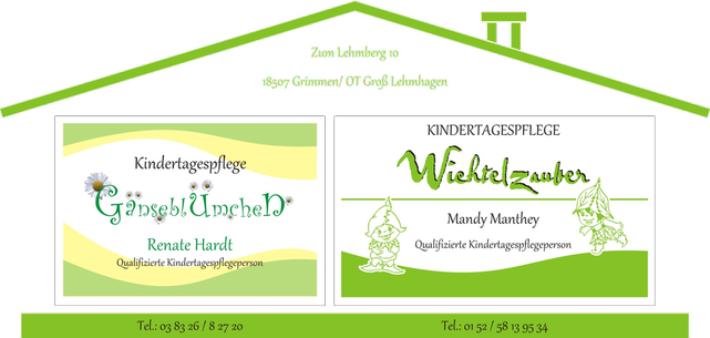 Kindertagespflegepersonenpartnerschaft R. Hardt & M. Manthey